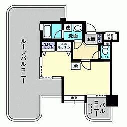 アルファコンフォート福岡西新[4階]の間取り