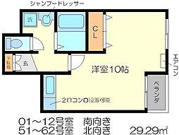 京都友禅文化会館[5階]の間取り
