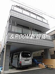 カーサ東新宿[201号室]の外観