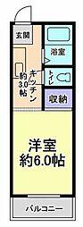 東京都日野市百草の賃貸マンションの間取り