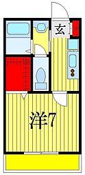 アレンデール[2階]の間取り