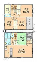 陸前山下駅 2,588万円