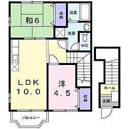 アイアンNO 3[2階]の間取り