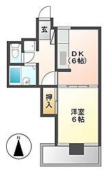 大須寿ビル[4階]の間取り