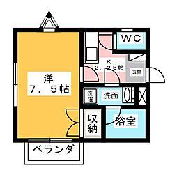 CRANE・TORTOISE(クレイントータス)[3階]の間取り