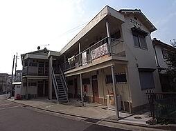 兵庫県明石市西明石北町1丁目の賃貸アパートの外観