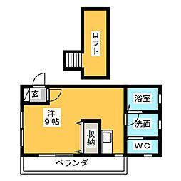 セラフィン[2階]の間取り