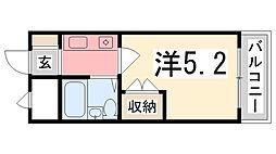 プレアール姫路龍野町[306号室]の間取り