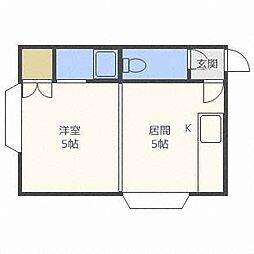 Appollo[3階]の間取り