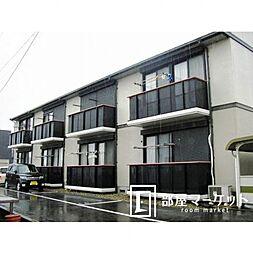 愛知県豊田市若林西町北間の賃貸アパートの外観