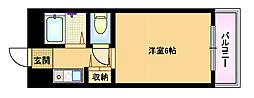 大阪府大阪市都島区友渕町2の賃貸マンションの間取り