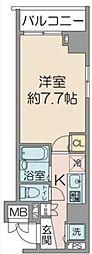 フェニックス横濱関内ベイマークス[11階]の間取り
