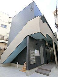 大阪府東大阪市岸田堂南町の賃貸アパートの外観