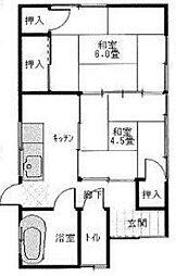 [一戸建] 埼玉県久喜市北青柳 の賃貸【/】の間取り