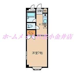 メゾンヤハタ[305号室]の間取り