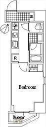 ザ・レジデンス・オブ・トーキョーC18[4階]の間取り