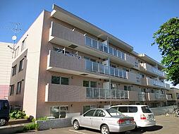 北海道札幌市豊平区西岡四条3丁目の賃貸マンションの外観