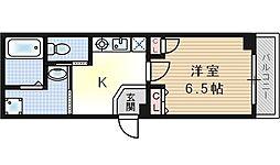 サンステージ島屋[1階]の間取り