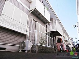 大阪府大阪市東住吉区公園南矢田1丁目の賃貸アパートの外観