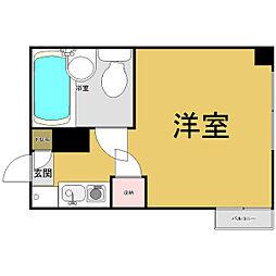 マンションAA[5階]の間取り