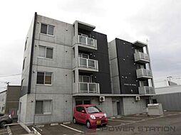 北海道千歳市東雲町1丁目の賃貸マンションの外観