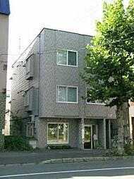 北海道札幌市北区北十二条西2丁目の賃貸アパートの外観
