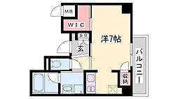 YAMATE435[3階]の間取り
