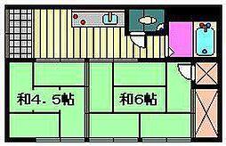 [一戸建] 埼玉県さいたま市見沼区大字東宮下 の賃貸【/】の間取り