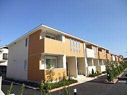 東京都西多摩郡日の出町大字平井の賃貸アパートの外観