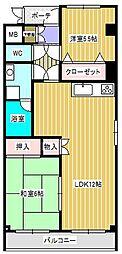 ルイメゾン1[3階]の間取り