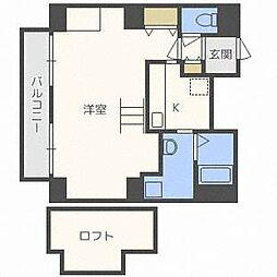 e−ハウス[13階]の間取り