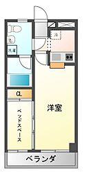 サンシャイン津田沼[3階]の間取り