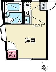 ピュアハウス鶴ヶ峰2番館[1階]の間取り