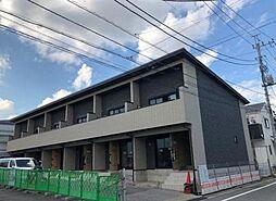 東京都足立区東伊興1丁目の賃貸アパートの外観