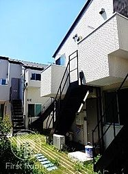 東京都目黒区大岡山1丁目の賃貸アパートの外観