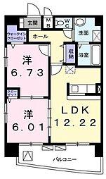 MSビル[8階]の間取り
