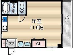 レストフォルム茨木[2階]の間取り