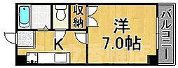 福岡県福岡市東区香椎4丁目の賃貸マンションの間取り
