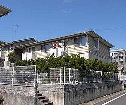 京都府京都市北区西賀茂中川上町の賃貸アパートの外観