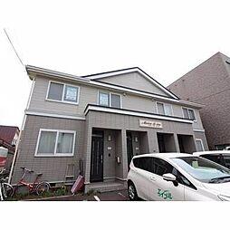 北海道札幌市西区宮の沢一条3丁目の賃貸アパートの外観