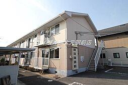 岡山県岡山市南区千鳥町丁目なしの賃貸アパートの外観