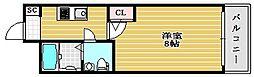 セレニテ堺筋本町SUD[5階]の間取り