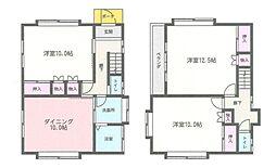 [一戸建] 神奈川県大和市下鶴間 の賃貸【/】の間取り
