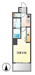 MiCLA MAKANA[5階]の間取り