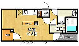 仮)パレス花水木[3階]の間取り