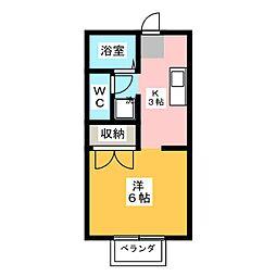 WEST51[2階]の間取り