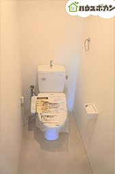 新築同様ピカピカのトイレを使用していただけます。