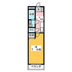 K−SQUARE[3階]の間取り