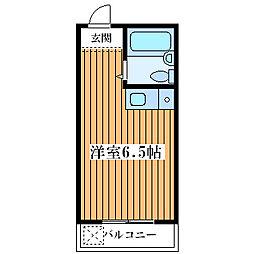 シャルムメゾン塚本[3階]の間取り