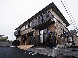 千葉県野田市桜の里3丁目の賃貸アパートの外観